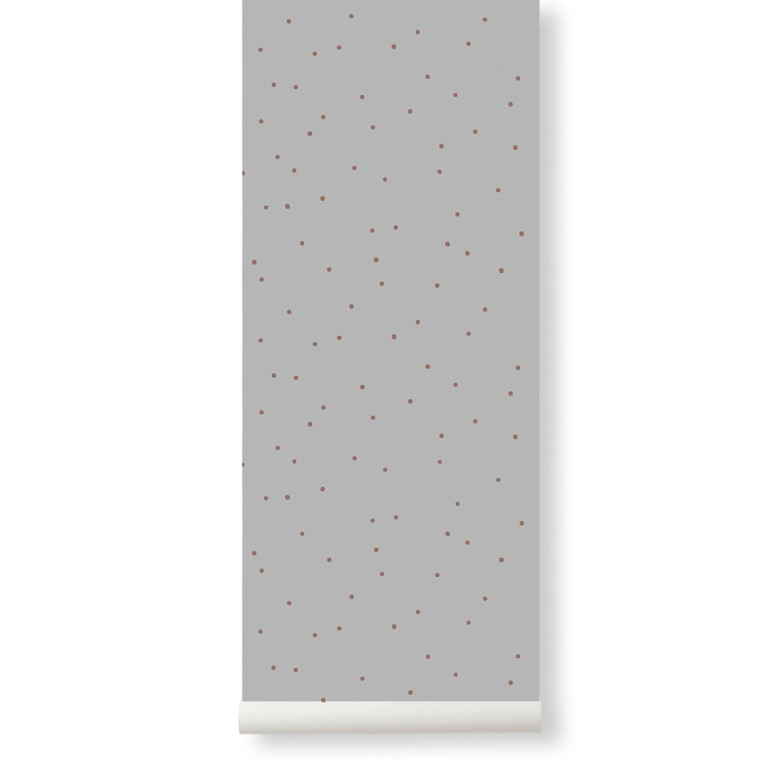 Dot Wallpaper Grey