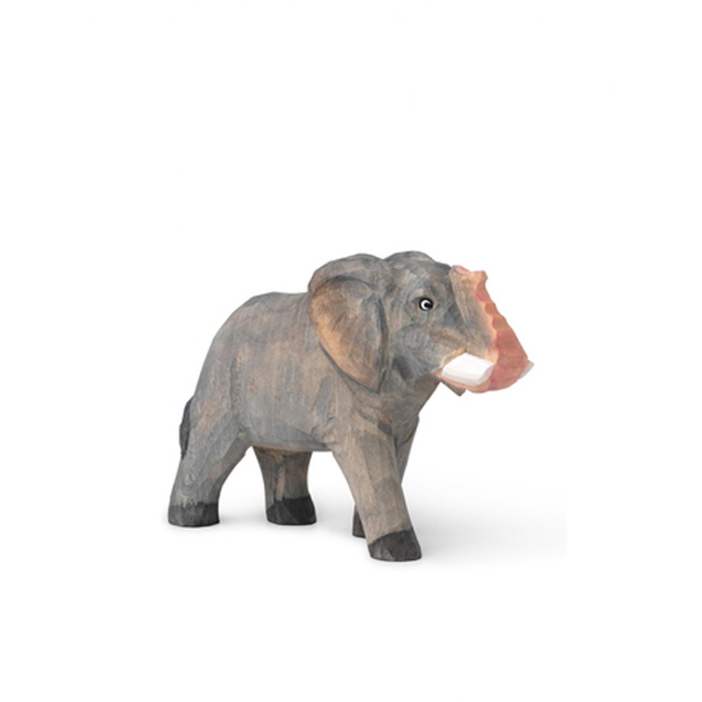 Animal Hand-Carved Elephant