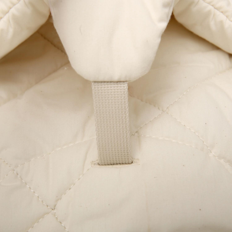 Baby Rocker LEVO with Organic White cushion CHARLIE CRANE