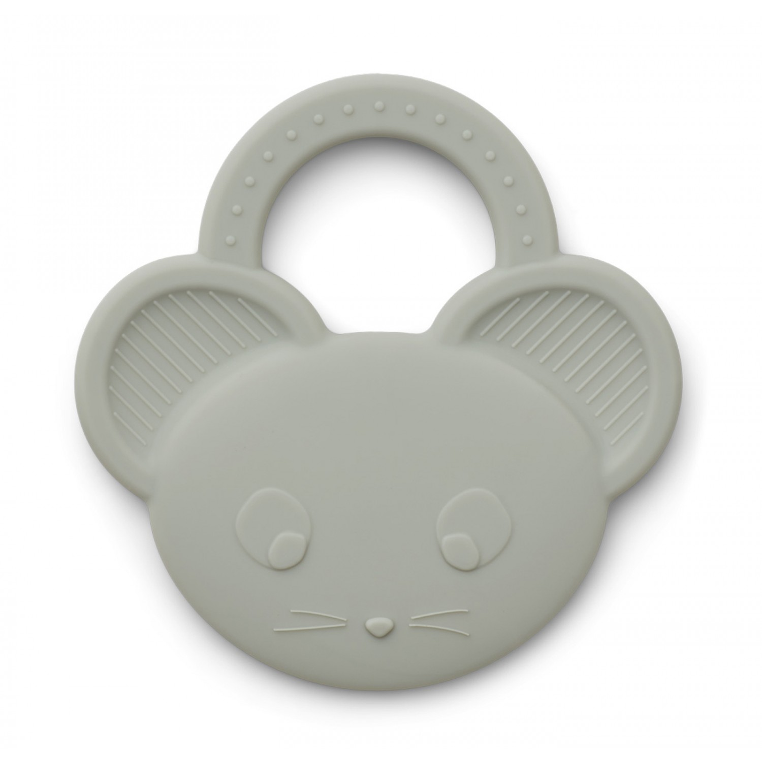 Gemma Teether   Mouse Dove Blue
