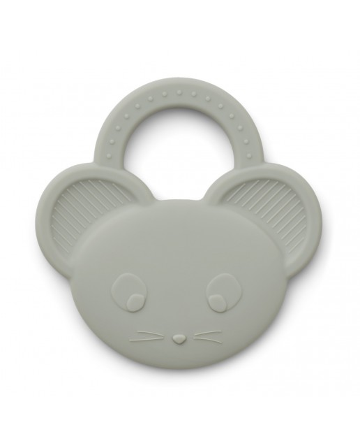 Gemma Teether | Mouse Dove Blue