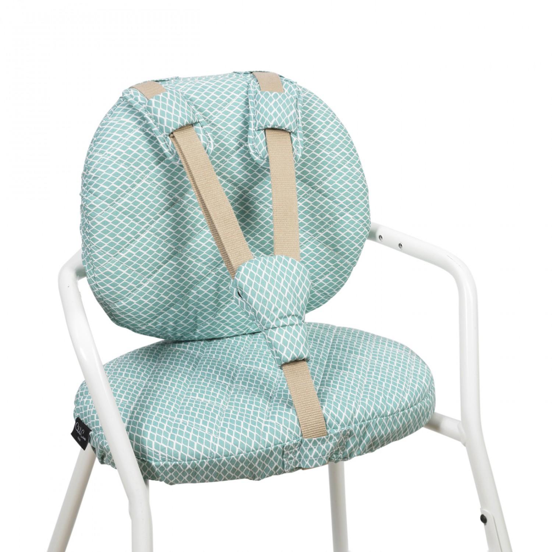 TIBU Diamond Blue cushions CHARLIE CRANE