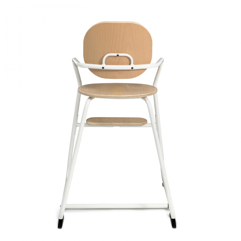 TIBU High Chair Gentle White CHARLIE CRANE
