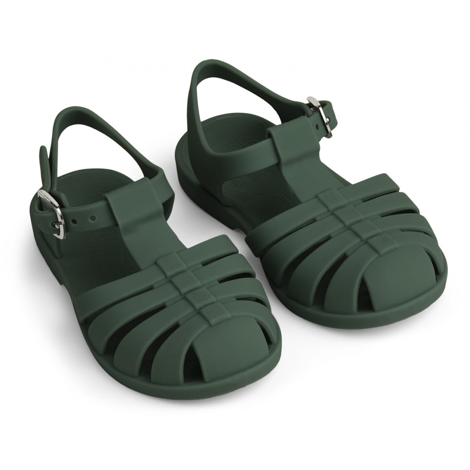 Bre Beach Sandals | Garden green