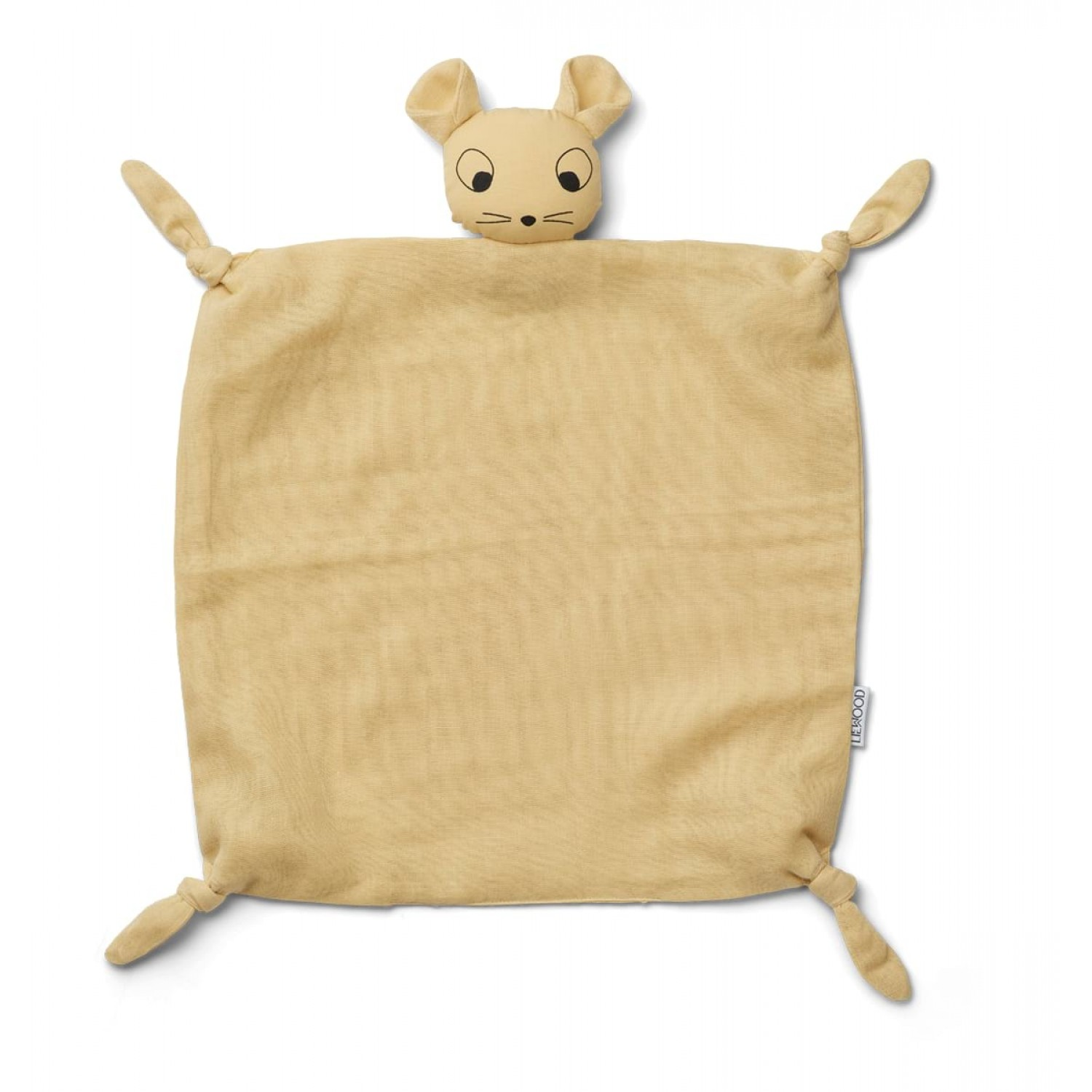 Agnete Cuddle Cloth - Mouse wheat yellow