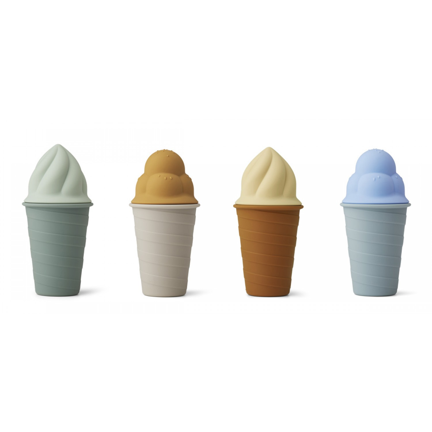 Bay ice cream toy 4-pack - Sky blue multi mix