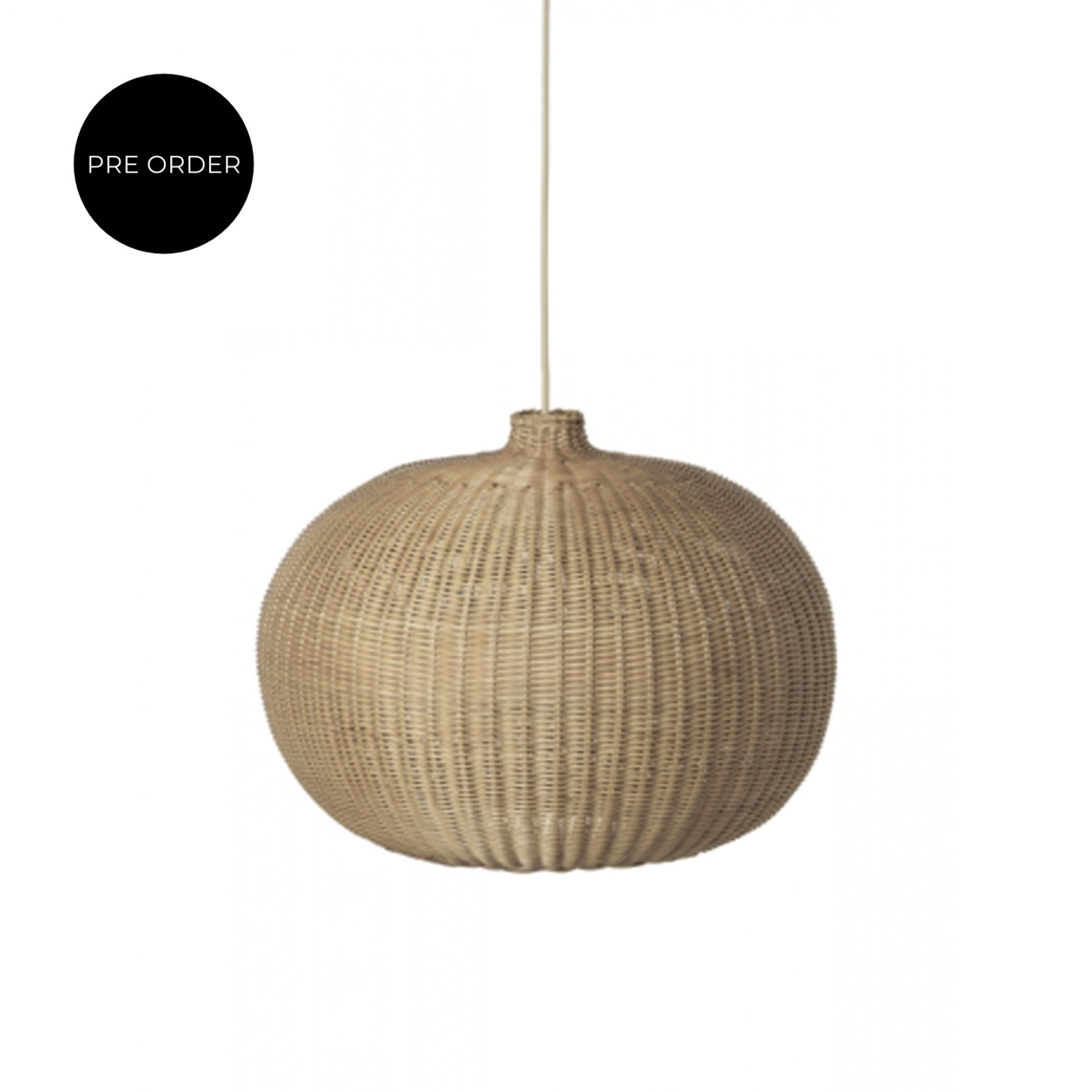 Braided Lampshade  Belly | ferm Living
