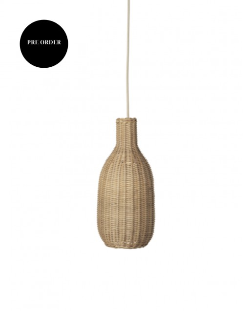 Braided Lampshade  Bottle | ferm Living