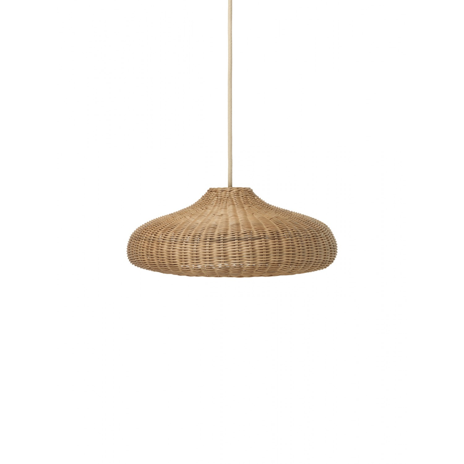 Braided Lampshade - Disc