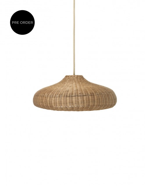 Braided Lampshade  Disc | ferm Living