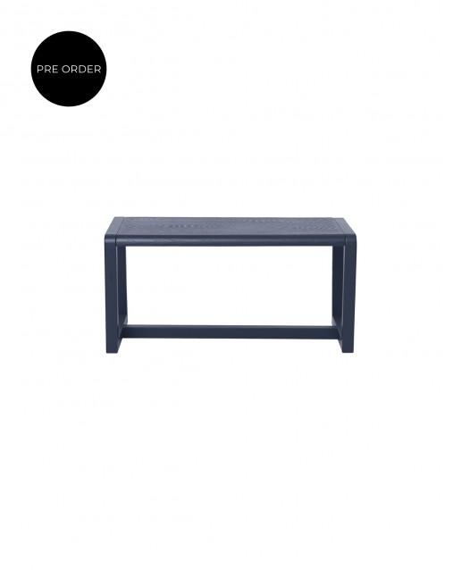 Bancă Little Architect Dark Blue | ferm Living
