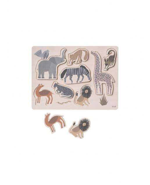 Safari Puzzle ferm Living