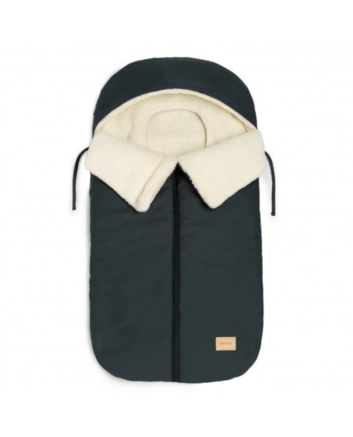 BABY ON THE GO WATERPROOF FOOTMUFF  | CARBON BLUE