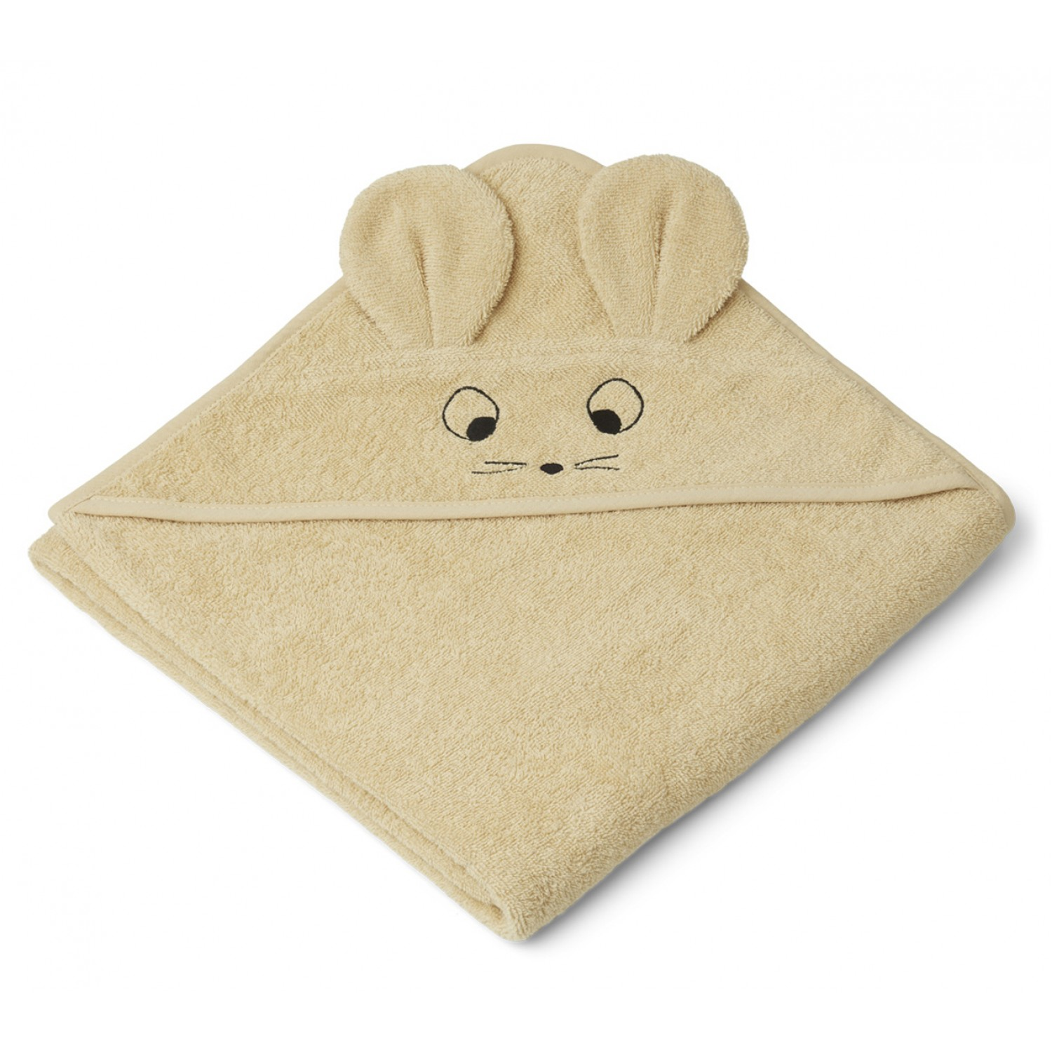 Augusta Hooded Junior Towel   Mouse wheat yellow