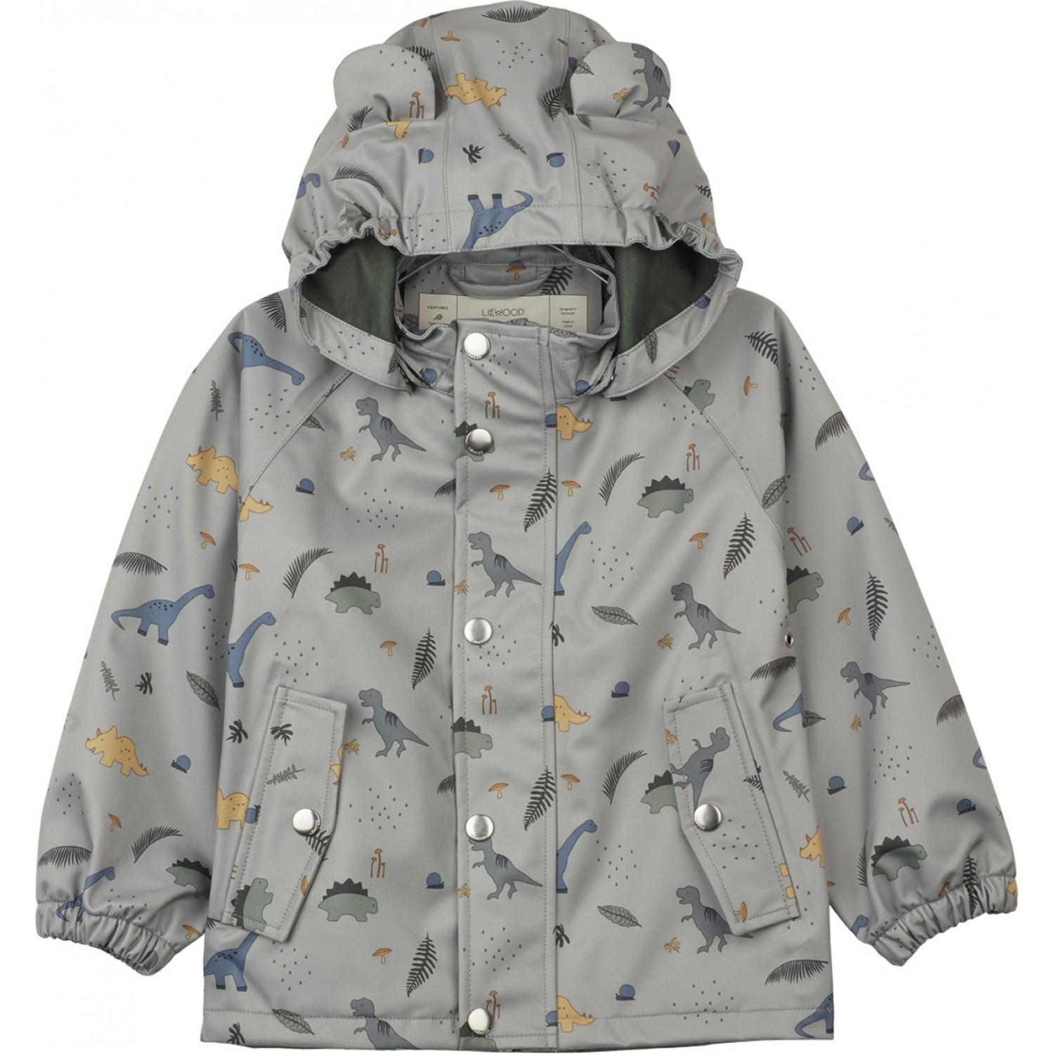 Dakota rainwear | Dino Dove blue