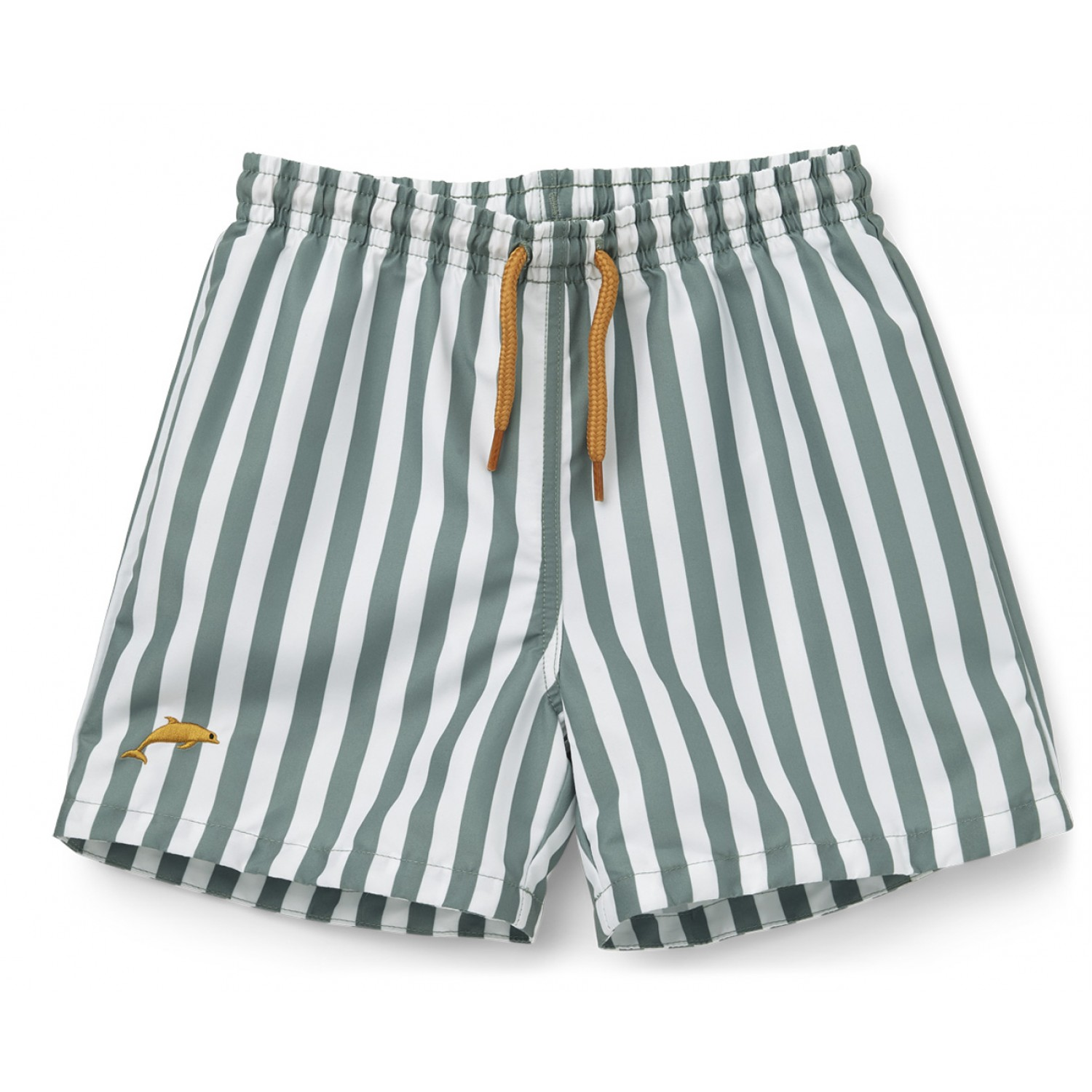 Duke board shorts | Peppermint/White
