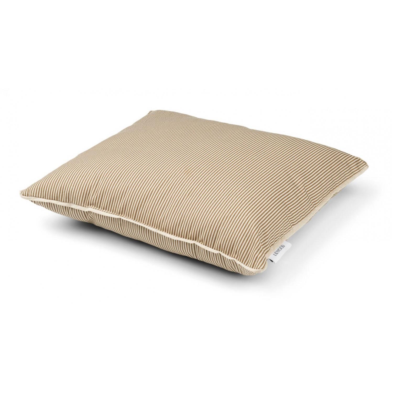 Kenny junior pillow print    Stripe: Sandy/oat