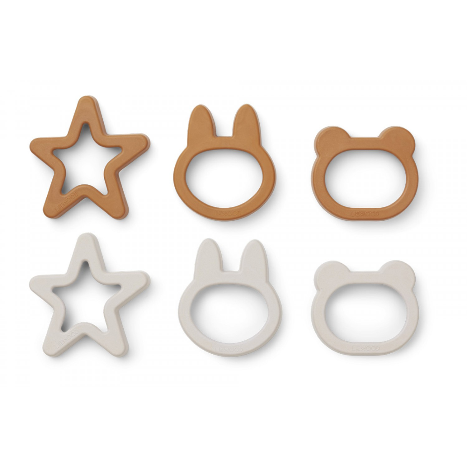 Andy Cookie Cutter - 6 pack   Mustard