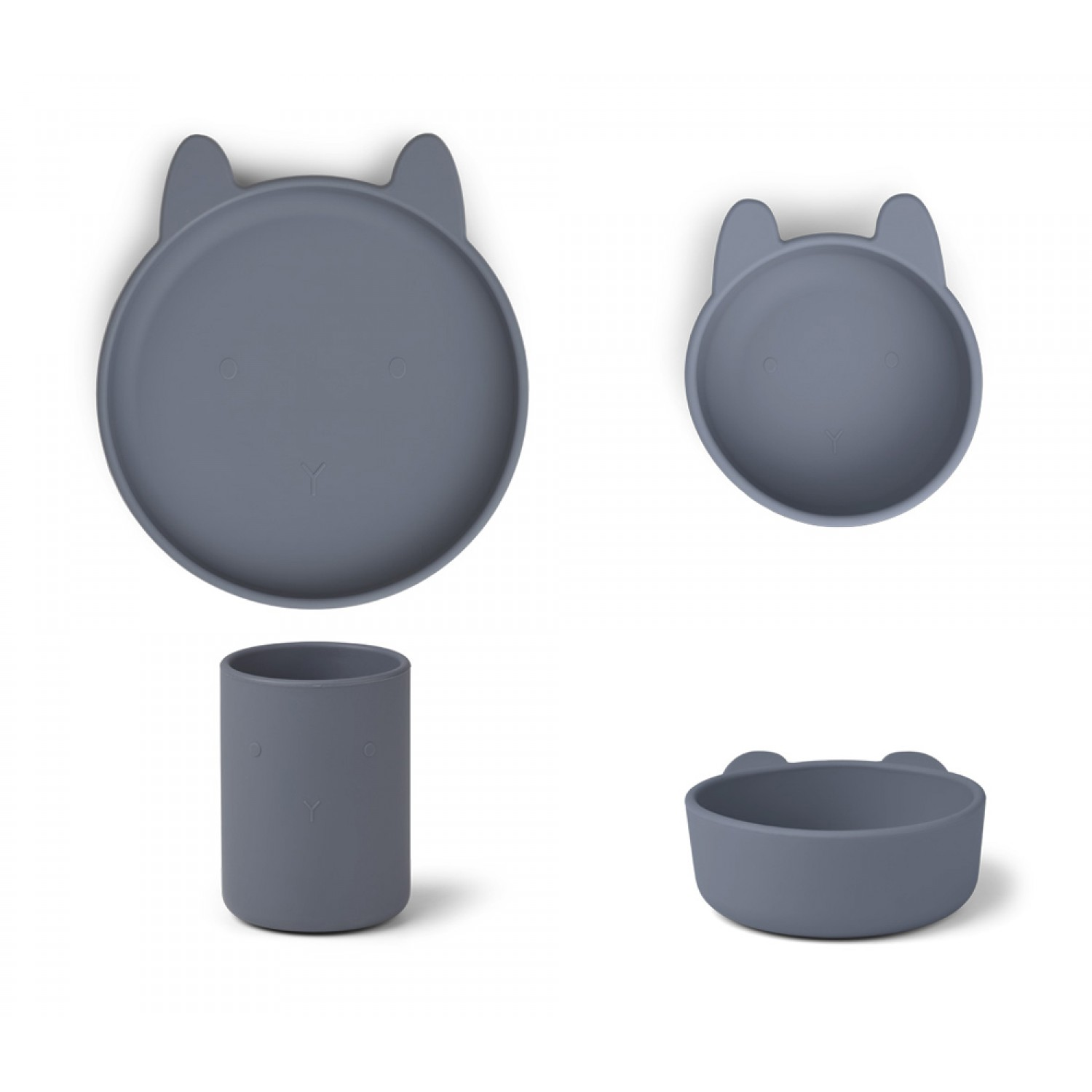 Cyrus Silicone Junior Set  | Rabbit Blue Wave