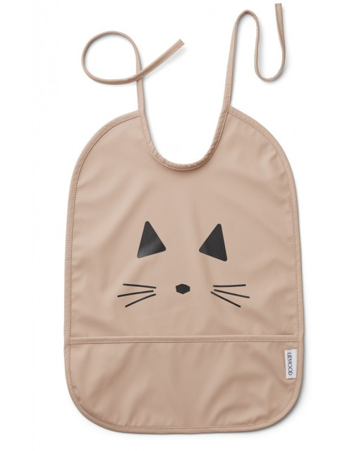 Lai Bib Liewood 2 pack | Cat Rose