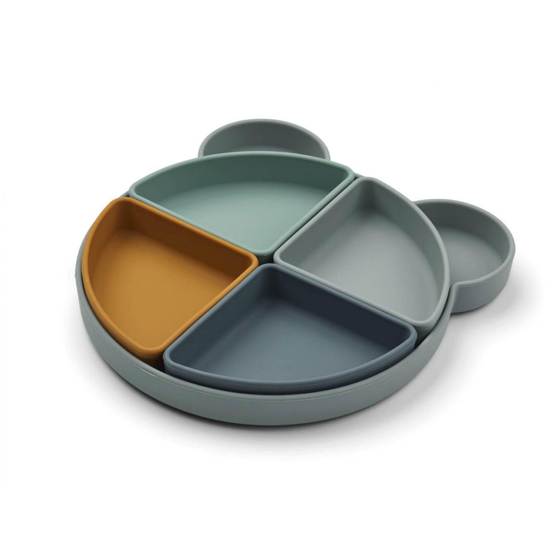 Arne divider plate | Mr bear blue fog multi mix
