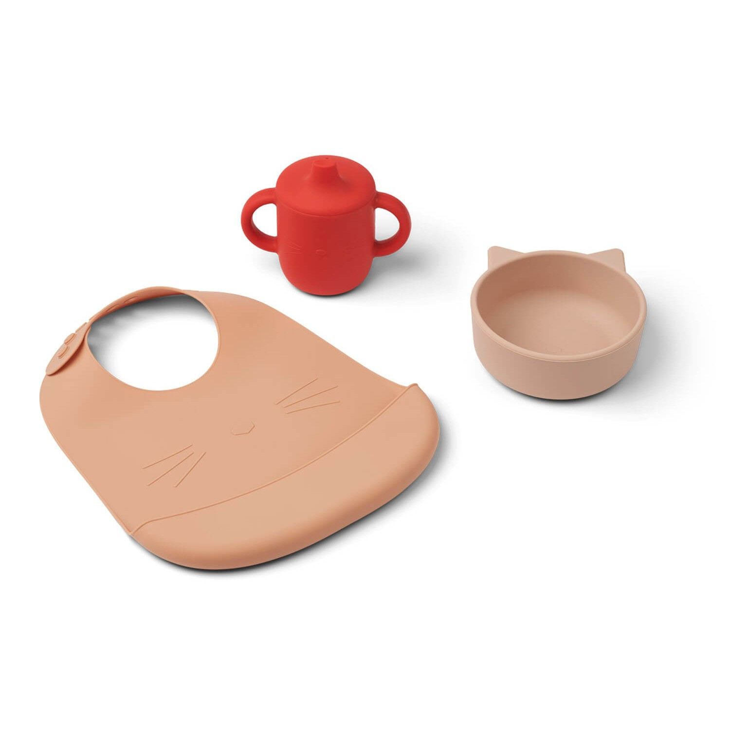 Connor baby dining set | Cat apple red multi mix