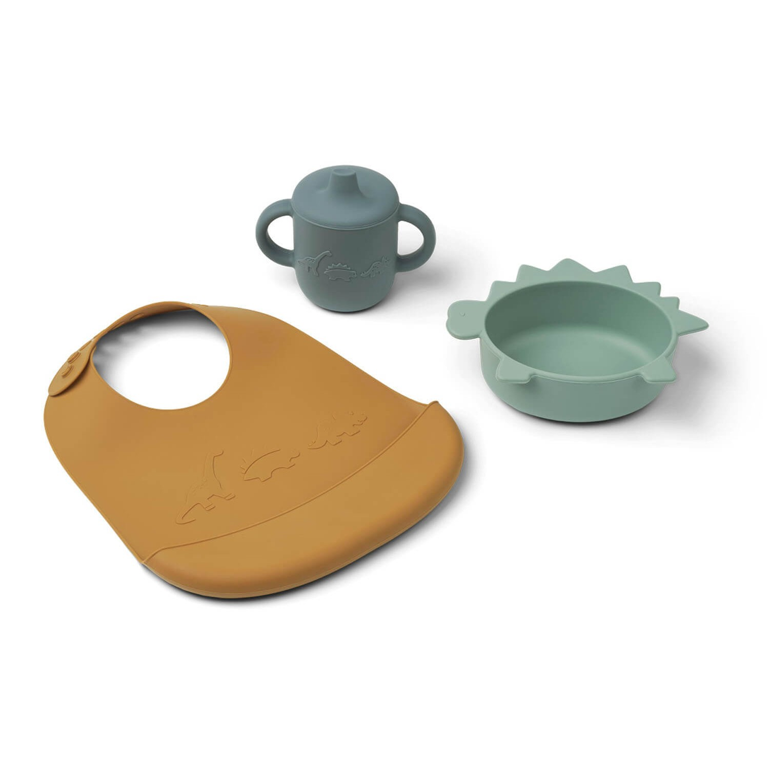 Connor baby dining set   Dino peppermint multi mix