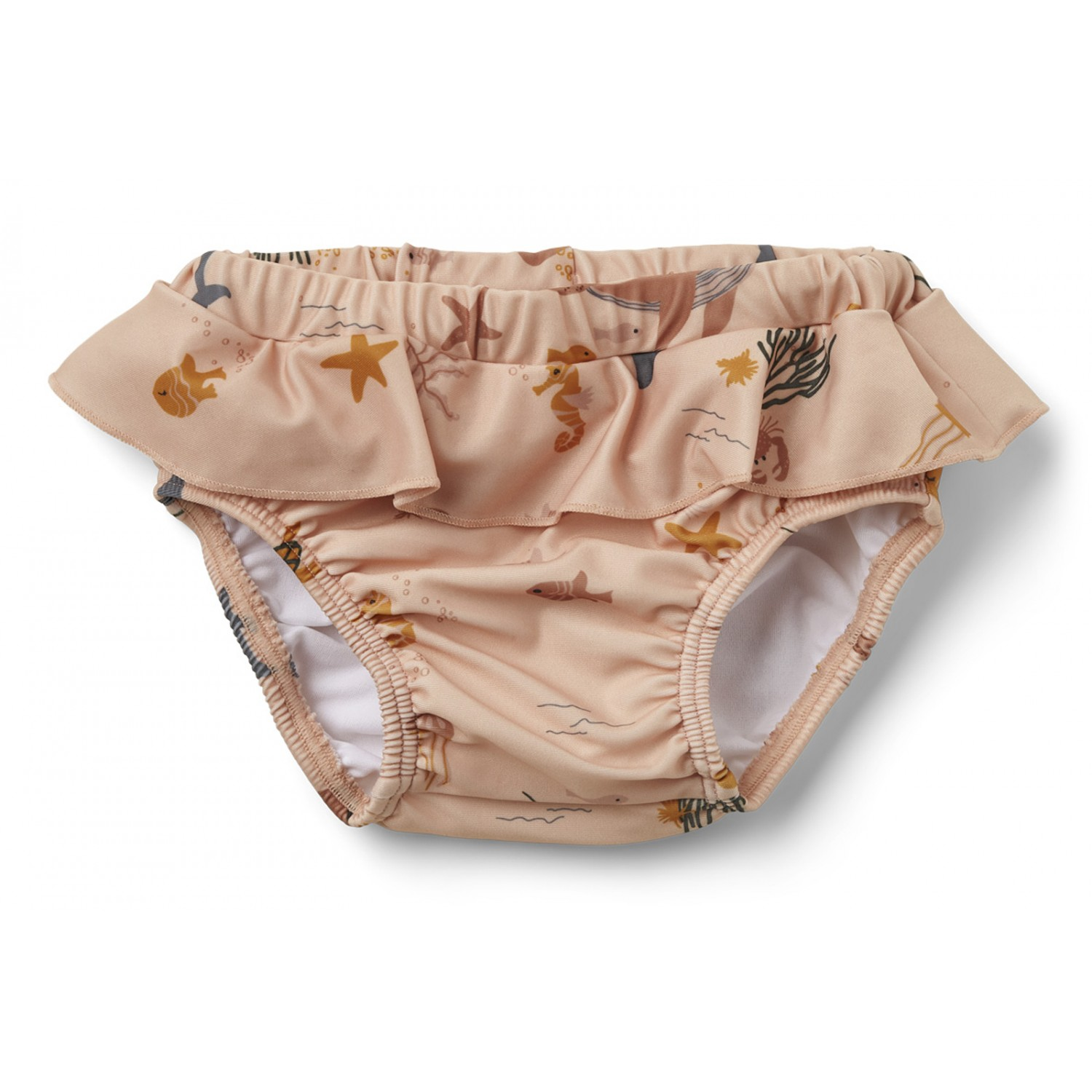 Elise baby swim pants - Sea creature rose mix