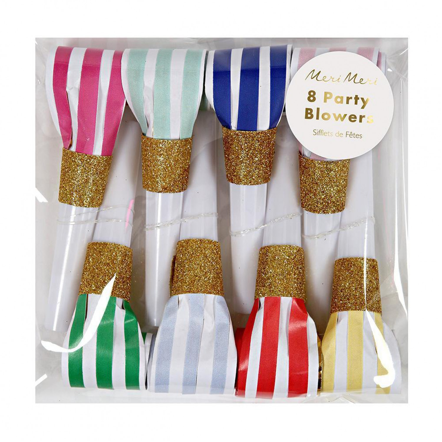 Bright Stripe Party Blowers