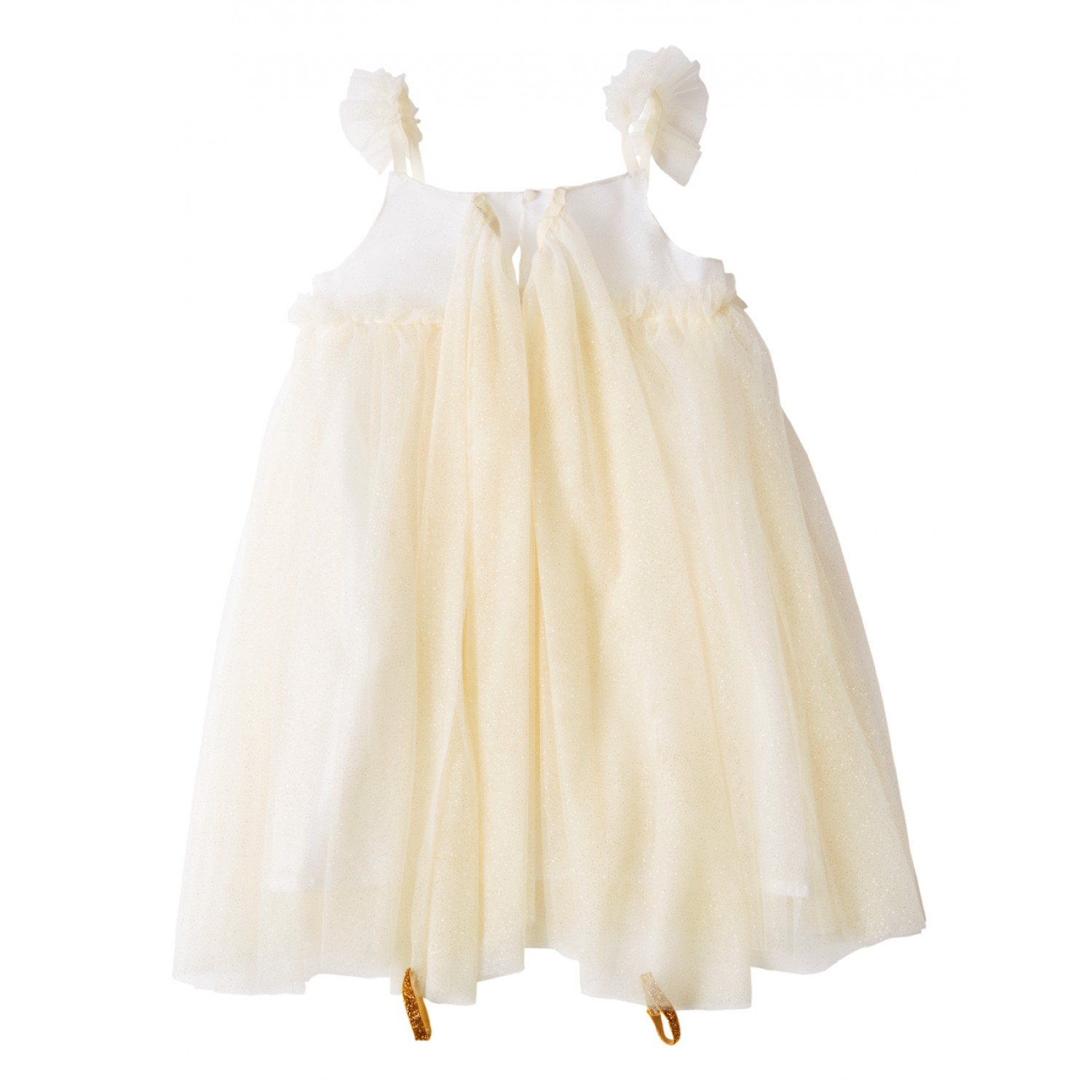 White Tulle Fairy Dress Up 5-6 years