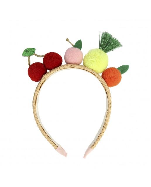 Fruit Pompom Headband