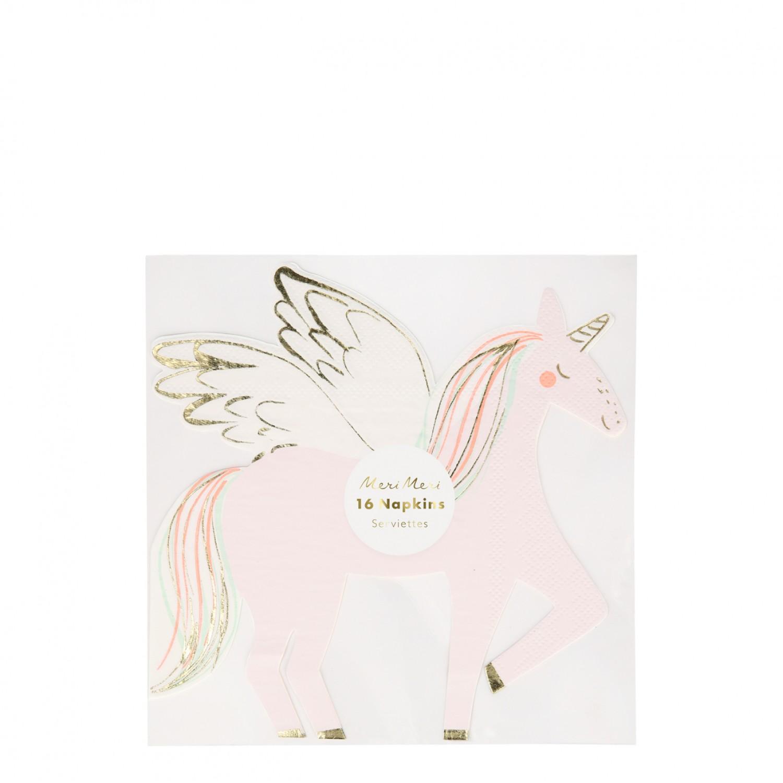 Winged Unicorn Napkins