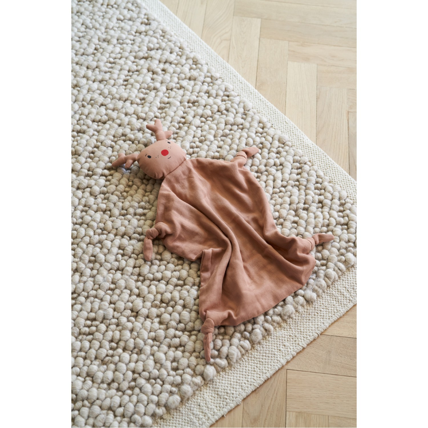 Agnete cuddle Cloth |  Reindeer Tuscany Rose