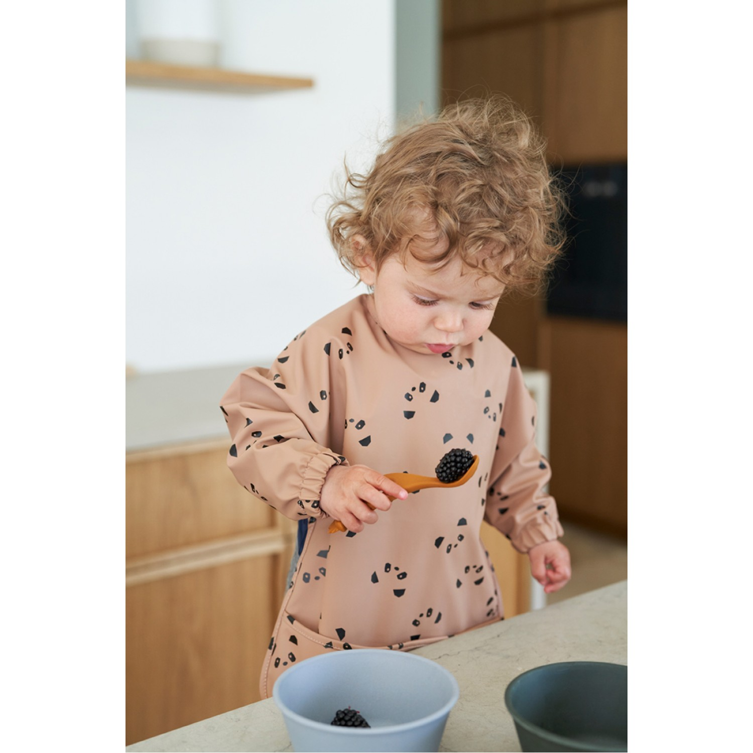 Liva Silicone Spoon 4 Pack   Rose Mix