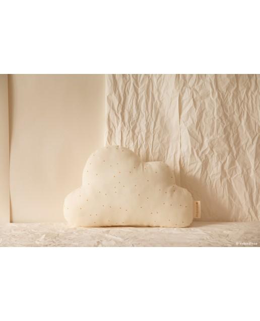 Cloud cushion | Honey sweet dots natural