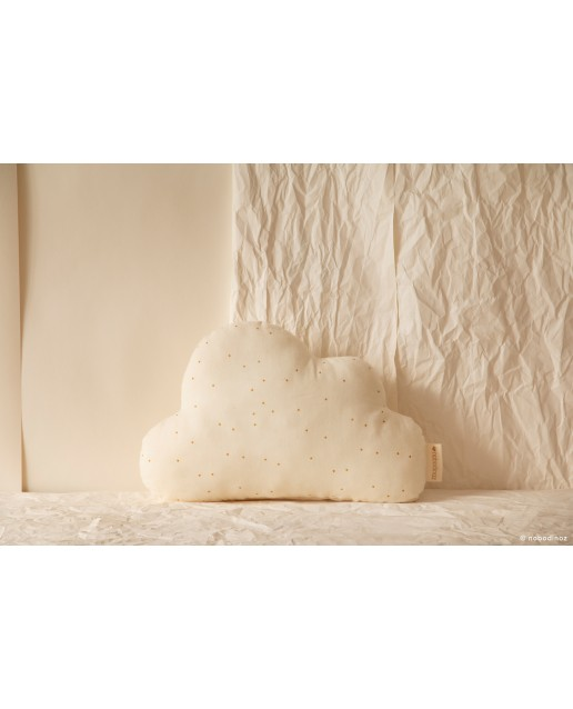Cloud cushion | Honey sweet dots natural