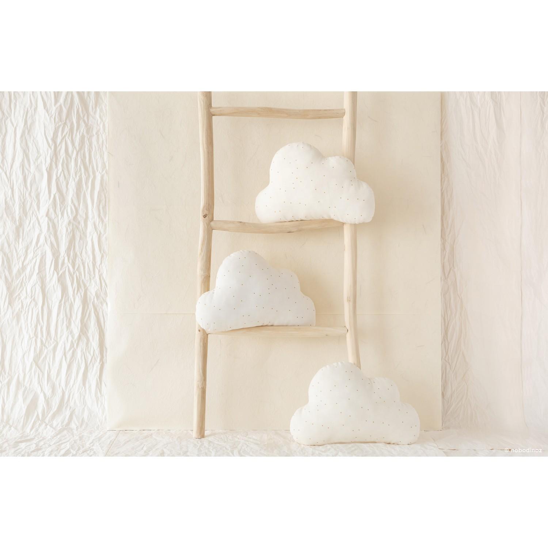 Cloud cushion   Honey sweet dots natural