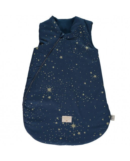 Cocoon sleeping bag | Gold bubble/ night blue/ 6-18 month