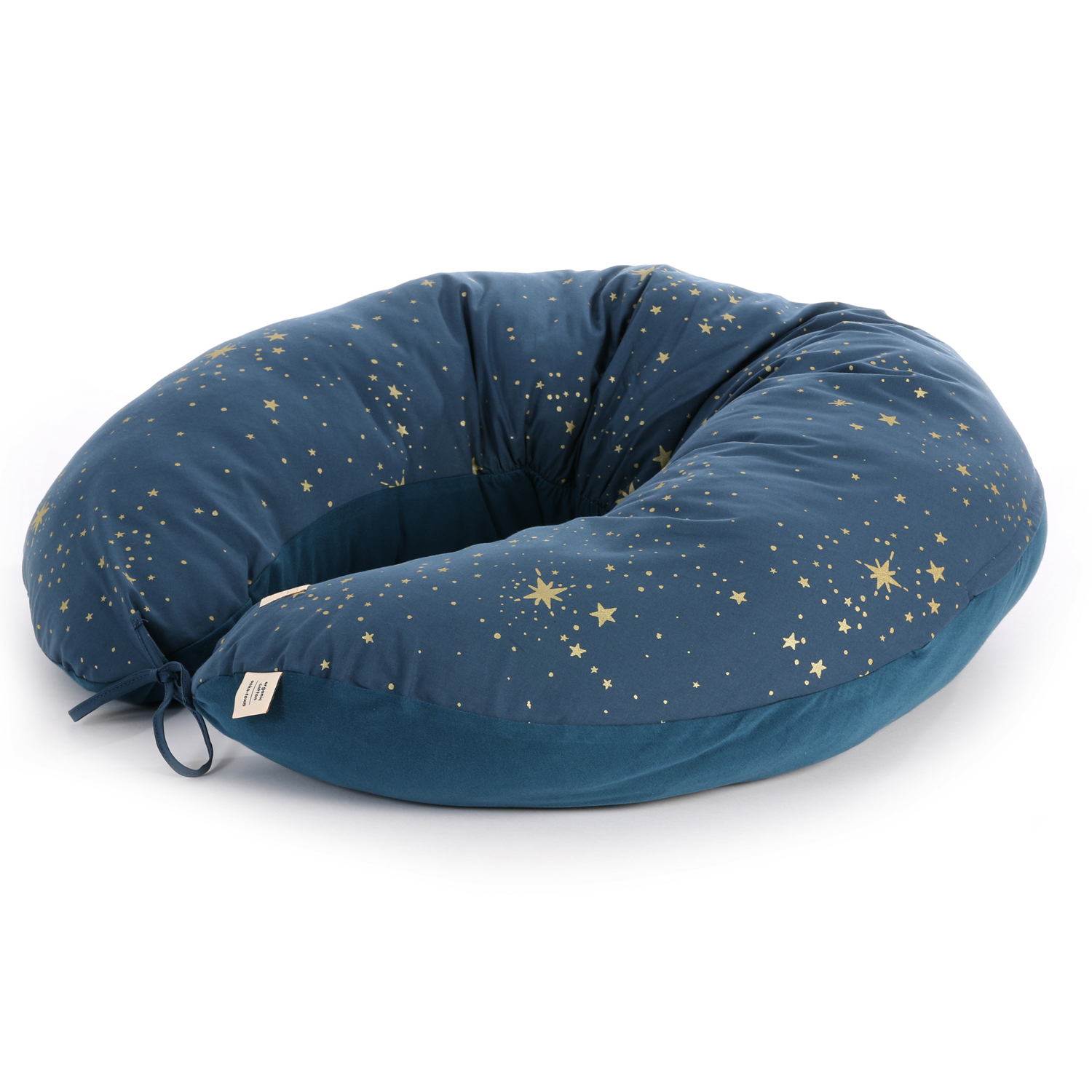 Luna maternity pillow Gold stella/ night blue
