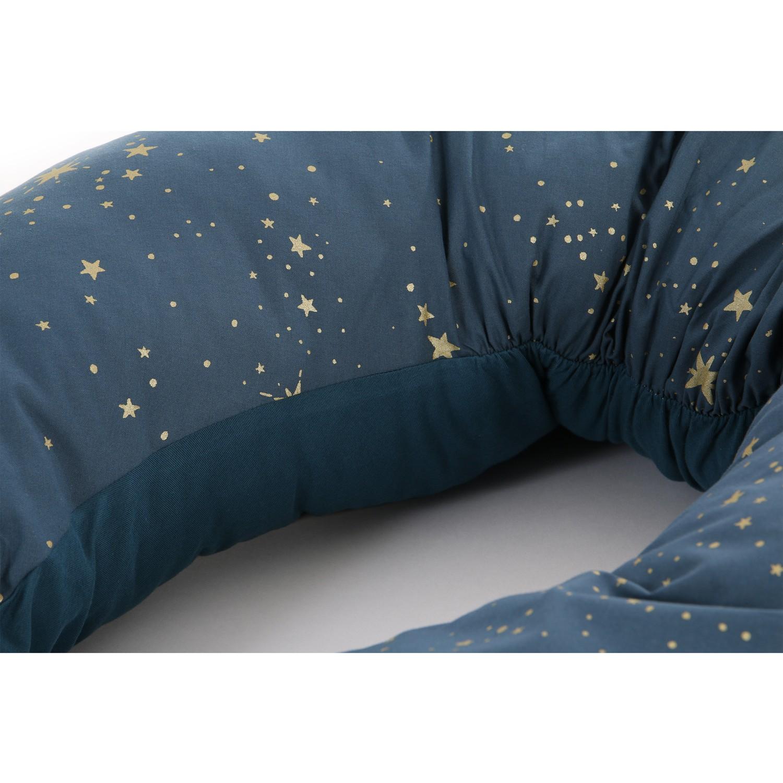 Luna maternity pillow Gold stella/ night blue