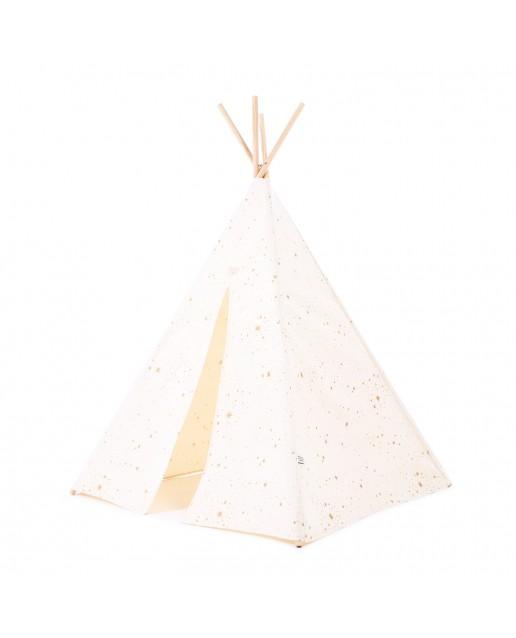 Phoenix teepee 149x100 | Gold stella/ natural