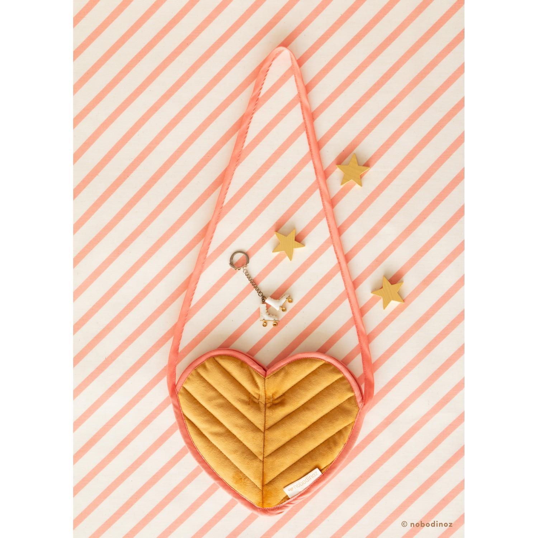 Love velvet mini bag | Farniente yellow
