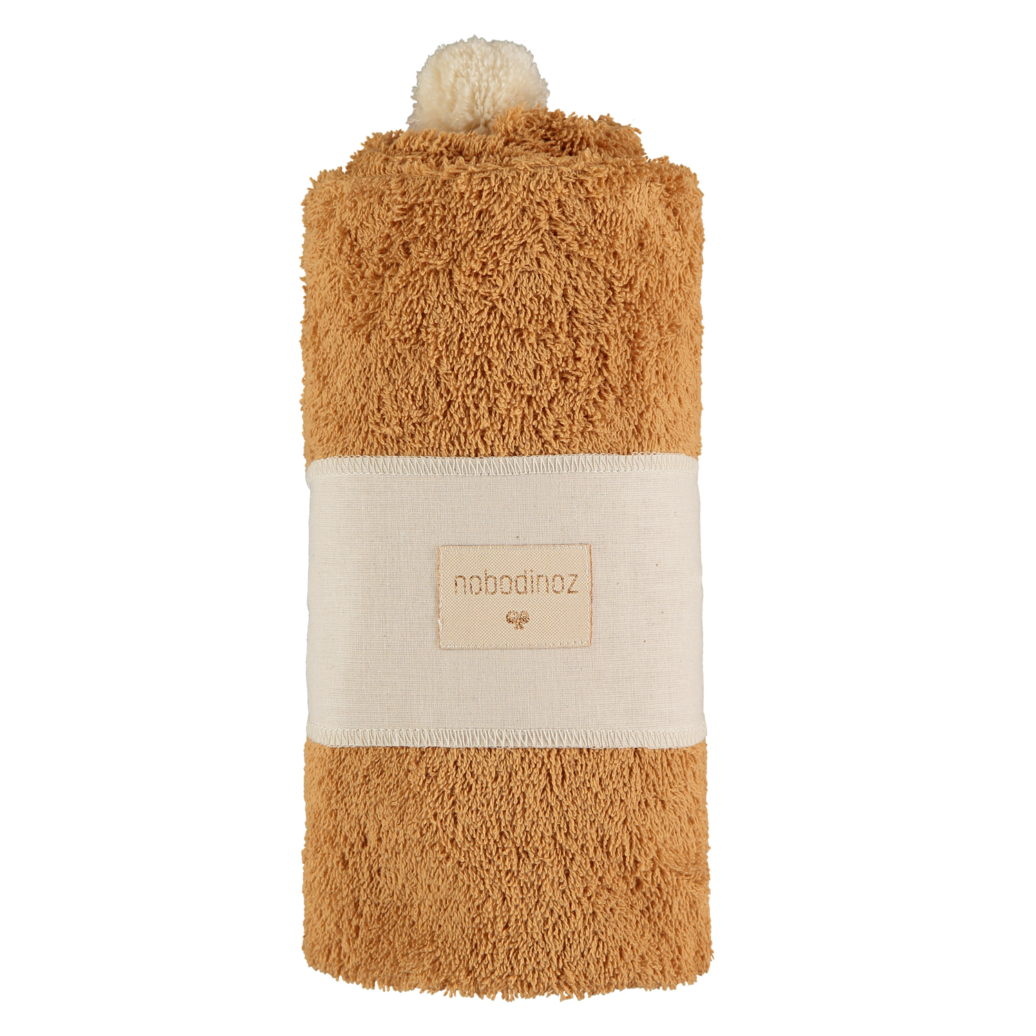 So Cute baby bath cape 73x73 | Caramel