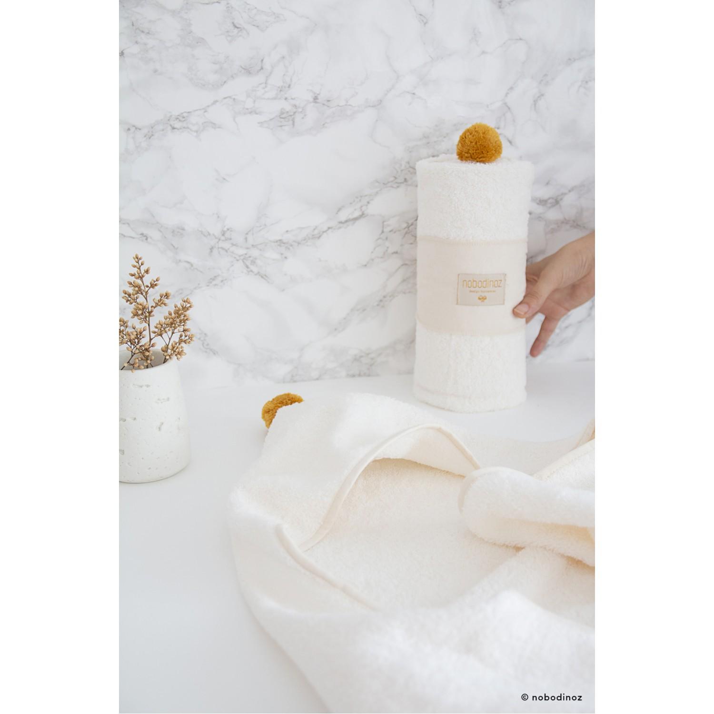 So Cute baby bath cape 73x73 | Natural